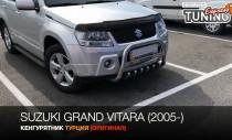 Can Otomotiv Кенгурятник Сузуки Гранд Витара 2 (защита переднего бампера Suzuki Grand Vitara 2)