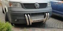Кенгурятник Фольксваген Транспортер Т5 (защита переднего бампера Volkswagen Transporter T5)