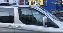 Ветровики Форд Транзит Кастом (дефлекторы окон Ford Transit Custom)