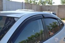 Cobra Tuning Ветровики Хендай Элантра 4 (дефлекторы окон Hyundai Elantra HD)