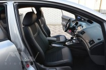 автомобильные Чехлы в салон Хонда Цивик 8 4Д (чехлы на Honda Civ