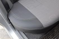 Чехлы кожанные Шевроле Ланос  (авточехлы на сиденья Chevrolet La