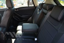 Чехлы в салон Мазда СХ-5 рестайл (чехлы на Mazda CX-5 restyle)