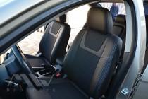 Чехлы в салон Митсубиси Лансер 10 (чехлы на Mitsubishi Lancer X)