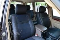 Чехлы MW Brothers Чехлы в салон Тойота Ленд Крузер Прадо 120 (чехлы на Toyota LC Prado 120)