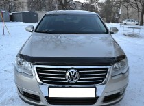 Мухобойка Фольксваген Пассат Б6 (дефлектор капота Volkswagen Passat B6)