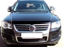 Дефлектор капота Фольксваген Туарег 1 (мухобойка Volkswagen Touareg 1)