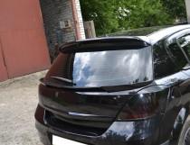 Купить спойлер под заднюю дверь Opel Astra H
