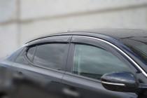 Ветровики Киа Оптима 3 (дефлекторы окон Kia Optima 3)