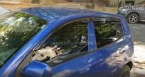 Ветровики Киа Пиканто 1 (дефлекторы окон Kia Picanto 1)