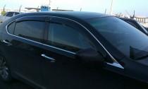 Ветровики Лексус ЛС 4 (дефлекторы окон Lexus LS 4)