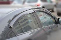 Ветровики Мазда 3 BL седан (дефлекторы окон Mazda 3 BL седан)
