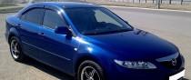 Ветровики Мазда 6 GG (дефлекторы окон Mazda 6 GG)