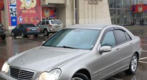 Ветровики Мерседес W203 (дефлекторы окон Mercedes С-Class W203)