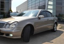 купить Ветровики Мерседес W211 (дефлекторы окон Mercedes E-Class