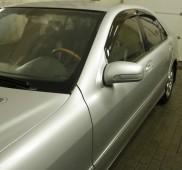 Ветровики Мерседес W220 (дефлекторы окон Mercedes S-Class W220)