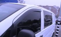 Ветровики Mercedes Vito W639 (дефлекторы окон)