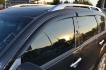 Ветровики Митсубиси Аутлендер ХЛ (дефлекторы окон Mitsubishi Outlander XL)