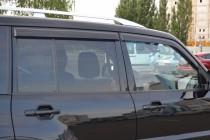 Ветровики Митсубиси Паджеро 4 (дефлекторы окон Mitsubishi Pajero 4)