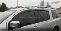 Ветровики Ниссан Армада 1 (дефлекторы окон Nissan Armada 1)