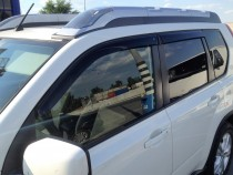 Ветровики Ниссан Х-Трейл Т31 (дефлекторы окон Nissan X-Trail T31)