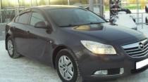 Ветровики Опель Инсигния 1 (дефлекторы окон Opel Insignia 1)