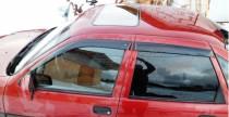 Ветровики Опель Вектра А (дефлекторы окон Opel Vectra A)