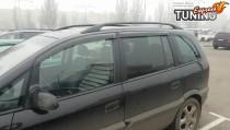 Ветровики Опель Зафира А (дефлекторы окон Opel Zafira A)