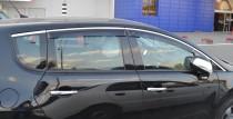 Ветровики Пежо 3008 (дефлекторы окон Peugeot 3008)