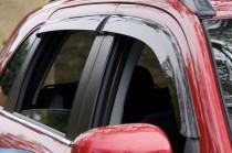 Ветровики Пежо 4008 (дефлекторы окон Peugeot 4008)