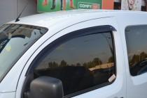 Ветровики Рено Кенго 2 (дефлекторы окон Renault Kangoo 2)
