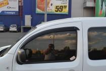 купить Ветровики Рено Кенго 2 (дефлекторы окон Renault Kangoo 2)