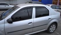 дефлекторы окон Renault Logan 1