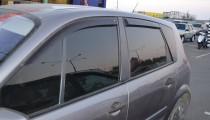 Ветровики Рено Сценик 2 (дефлекторы окон Renault Scenic 2)