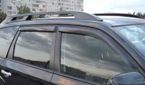 Ветровики Субару Форестер 3 (дефлекторы окон Subaru Forester 3)