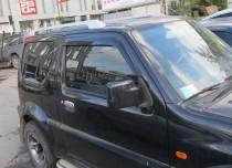 Ветровики Сузуки Джимни JB43 (дефлекторы окон Suzuki Jimny JB43)