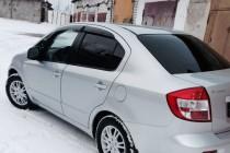 Ветровики окон Сузуки СХ4 седан (дефлекторы окон Suzuki SХ4 1 sedan)