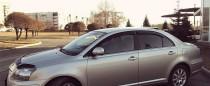 Ветровики Тойота Авенсис 2 (дефлекторы окон Toyota Avensis 2)