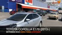 Ветровики Тойота Королла 11 Е170 (дефлекторы окон Toyota Corolla E170)