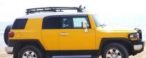 Ветровики Тойота ФЖ Крузер (дефлекторы окон Toyota FJ Cruiser)