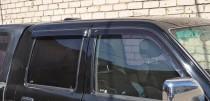 Ветровики Тойота Хайлюкс 7 (дефлекторы окон Toyota Hilux 7)