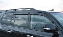Ветровики Тойота Ленд Крузер 200 (дефлекторы окон Toyota Land Cruiser 200)