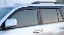 Ветровики Тойота Ленд Крузер Прадо 150 (дефлекторы окон Toyota Land Cruiser Prado 150)