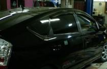 Ветровики Тойота Приус 3 (дефлекторы окон Toyota Prius 3)