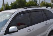 Ветровики Тойота Рав 4 2 (дефлекторы окон Toyota RAV4 2)