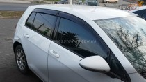 Ветровики Фольксваген Гольф 7 (дефлекторы окон Volkswagen Golf 7)