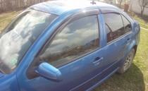 Ветровики Фольксваген Бора (дефлекторы окон Volkswagen Bora)