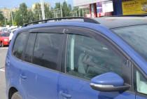 Ветровики Фольксваген Туран 2 (дефлекторы окон Volkswagen Touran 2)