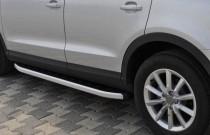 Силовые пороги на Audi Q3 дизайн Fullmond