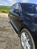 Силовые пороги Ауди Q7 стиль Dolunay (подножки на Audi Q7)